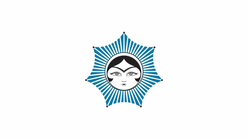 طراحی لوگوی خورشید خانم به سفارش انجمن سرامیک میبد